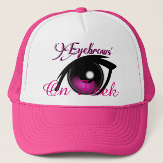 """Eyebrows On Fleek"" Trucker Hat"