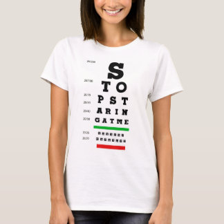 Eyechart T-Shirt