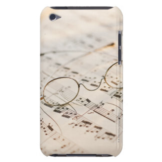Eyeglasses on Sheet Music iPod Touch Case-Mate Case