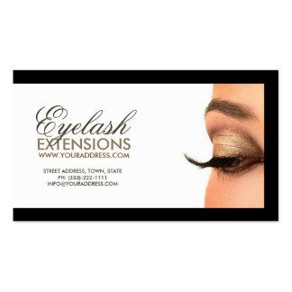 390 Eyelash Extensions Business Cards and Eyelash