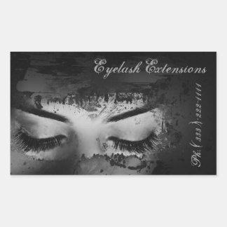 Eyelash Extensions Dark Strokes Sticker