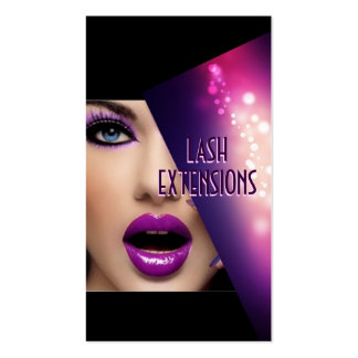 Eyelash Extensions, Lash Cosmetologist, Pack Of Standard Business Cards