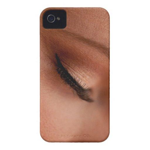 Eyelashes iPhone 4 Case-Mate Cases
