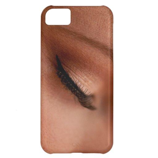Eyelashes Case For iPhone 5C
