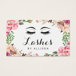 Eyelashes Makeup Artist Romantic Floral Wrapping