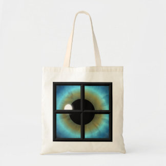 Eyes are the Windows to the Soul Budget Tote Bags