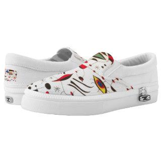 Eyes art Zipz Slip On Shoes, UK: 3 / EUR: 35