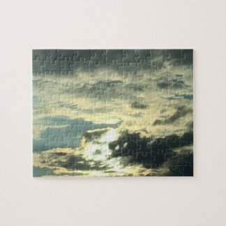 Eyes Clouds Puzzle