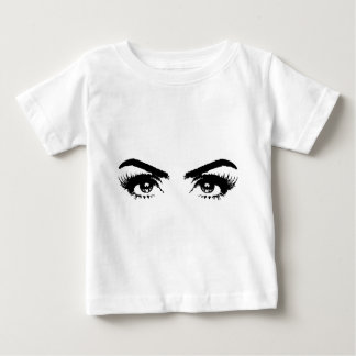 Eyes, Eyebrows & Eyelashes Baby T-Shirt