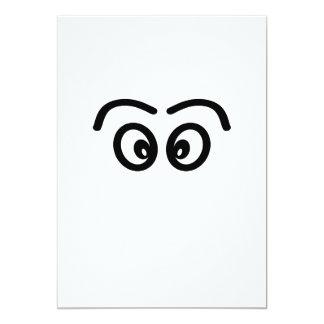 Eyes - face. card