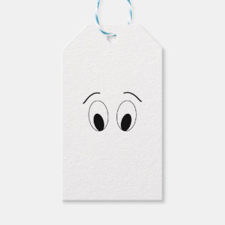 Eyes - face. gift tags