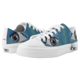 """EYES """"I see you"""" sneakers Low Top Shoes"""