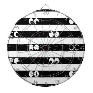Eyes in Stripes Dartboard