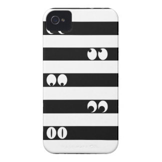 Eyes in Stripes iPhone 4 Cover