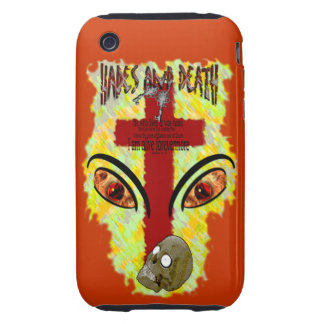 Eyes Like Blazing Fire - Revelation 1:14-18 iPhone 3 Tough Covers