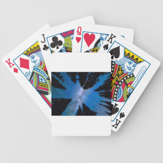 Eyes Looking Down Bicycle Playing Cards