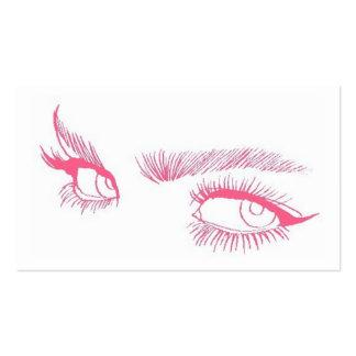 Eyes Makeup Artist Pack Of Standard Business Cards