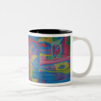 eyes Mark II Two-Tone Coffee Mug