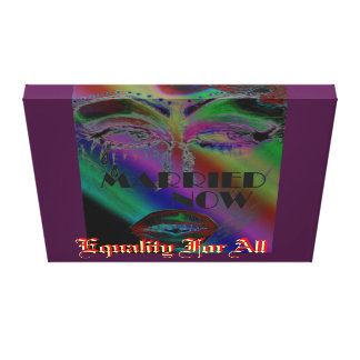 Eye's Married Now Drag Gallery Wrap Canvas