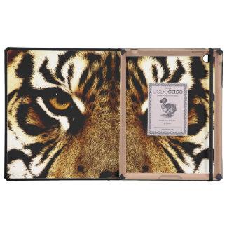 Eyes of a Tiger iPad Folio Cases