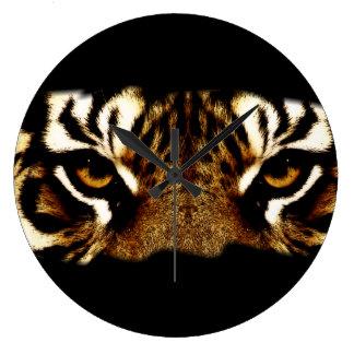 Eyes of a Tiger Clock