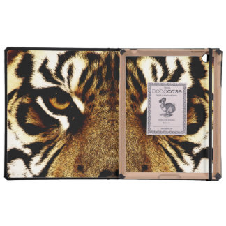 Eyes of a Tiger iPad Case