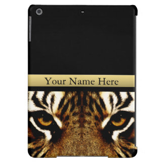 Eyes of a Tiger Personalized iPad Air Cases