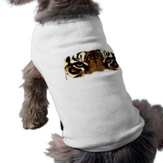 Eyes of a Tiger Sleeveless Dog Shirt