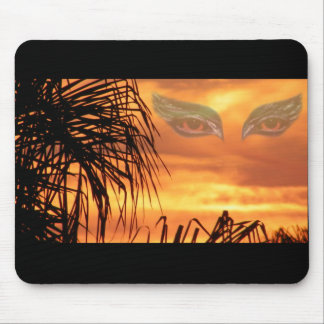 Eyes of flames_ mouse pads
