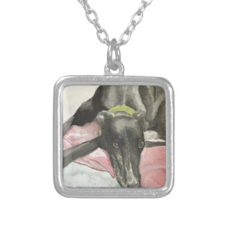 Eyes of His Soul Silver Plated Necklace