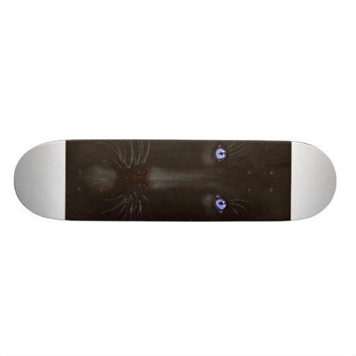 eyes of ice - tigers eyes -skateboard