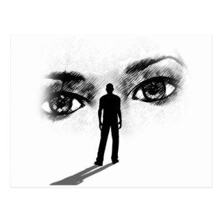 Eyes Of the Goddess post card