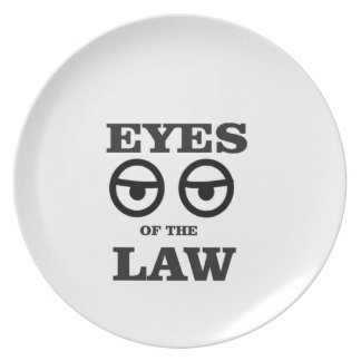 eyes of the law yeah plate