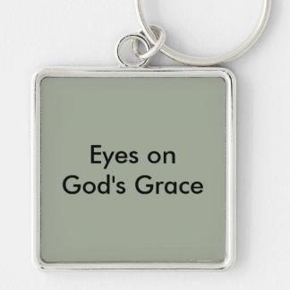 Eyes on God's Grace Key Chain
