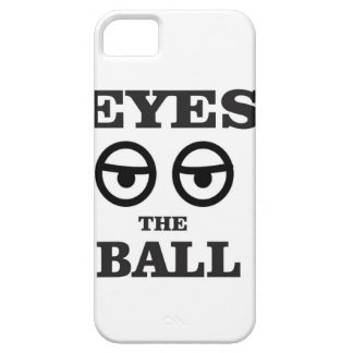 eyes on the ball iPhone 5 cover