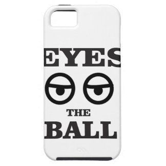 eyes on the ball tough iPhone 5 case
