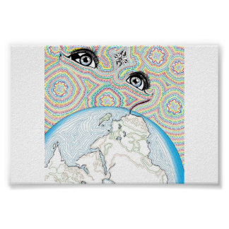 Eyes over the World Poster
