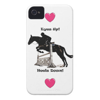 Eyes Up! Heels Down! Horse iPhone 4/4S Case-Mate C