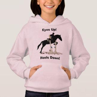 Eyes Up! Heels Down! Horse Jumper