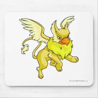 Eyrie Yellow Mouse Pad