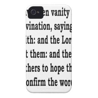 Ez. 13:6 iPhone 4 Case-Mate cases