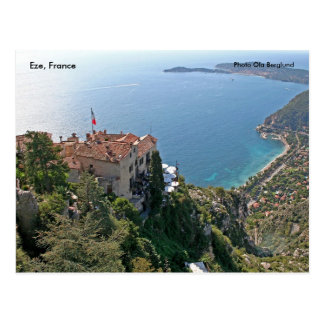 Eze, France, Photo Ola Berglund Postcard