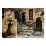Eze, Provence greeting card