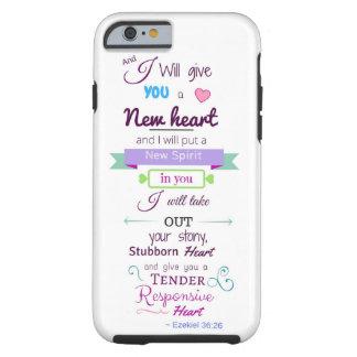 Ezekiel 36:26 iPhone 6/6s Tough Phone Case