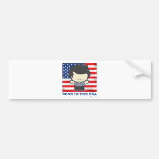 Ezekiel Born in the USA Bumper Sticker