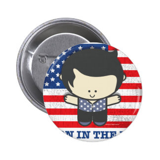 Ezekiel Born in the USA Pinback Buttons