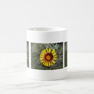 F0001 Yellow Wildflower Coffee Mug