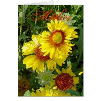 F0006 Yellow Wildflowers Greeting Card