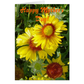F0006 Yellow Wildflowers Greeting Card