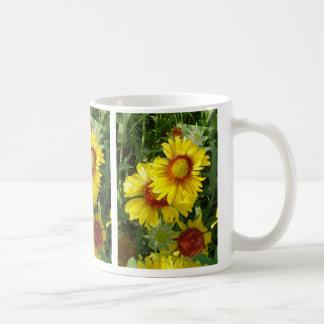 F0006 Yellow Wildflowers Mugs